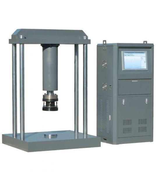 100吨再生树脂复合井盖压力残余变形试验机